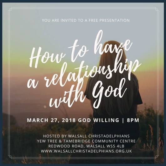 How to Have a Relationship with God