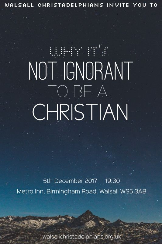 Why It's Not Ignorant to be a Christian